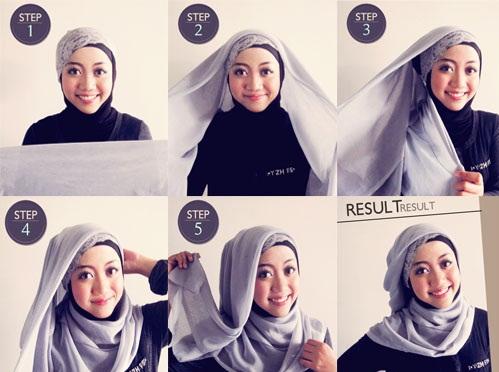 Tips Memakai Hijab Untuk Wajah Bulat Atau Tembem