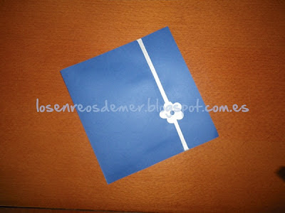 Tarjeta de felicitación hecha a mano