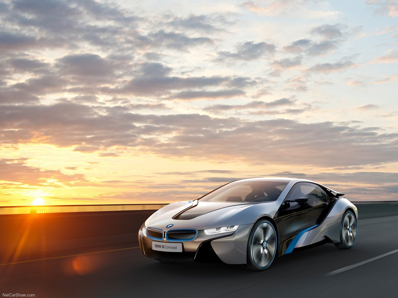 Cars Wallpapers 2012: BMW unveils i8 Spyder Concept