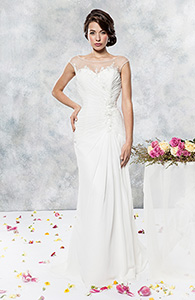 Informal bridal gown