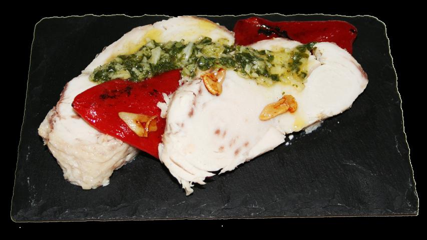 Cocina muy sencilla morrillo de pez espada a la sal - Casa antonio zahara ...