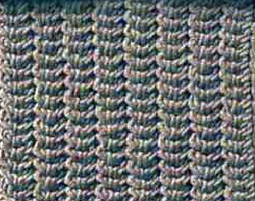 Knitting Stitches Herringbone : Knitting Galore: Saturday Stitch: Herringbone Stitch.