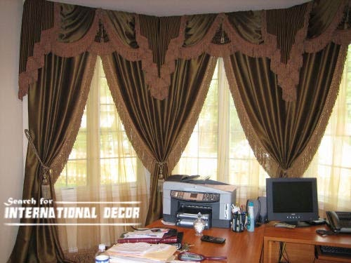 curtain designs, unique curtains, luxury curtains,window decorations