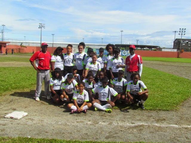 Torneo Softbol Femenino Colegial 2014