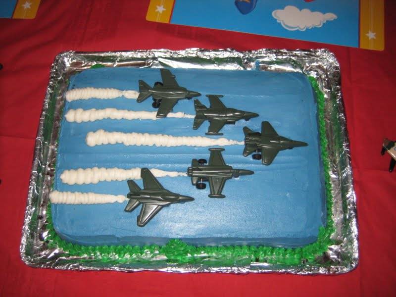 Pew All Our Own: Isaacs Airplane Party