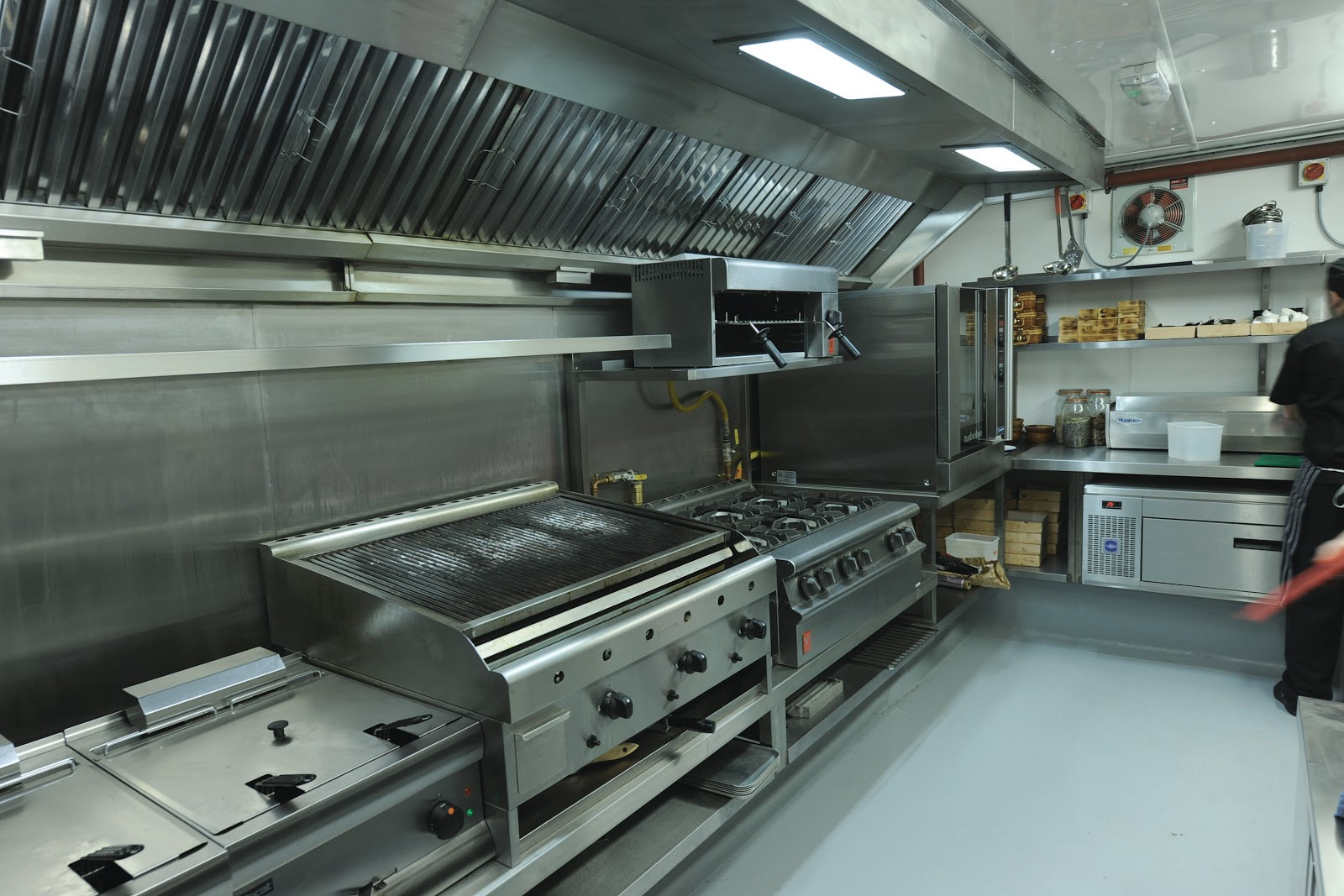 Monarch Catering Equipment Design Supply And Installation Of The Restaurant Kitchen And Bar At