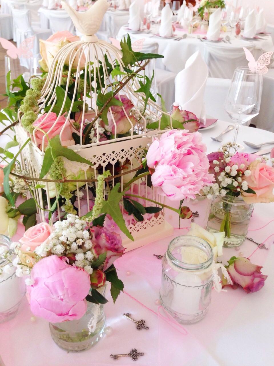 Hochzeitsdeko im vintage stil princess dreams for Hochzeitsdeko rosa
