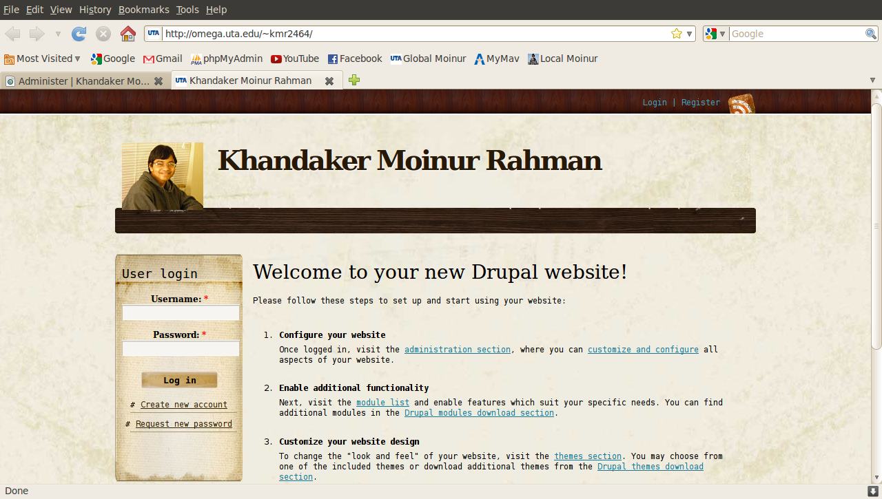 Introduction to content management system drupal khandaker i am a newbie in cmsdrupal things so i am following drupal for dummies book lets see how far i can go baditri Images