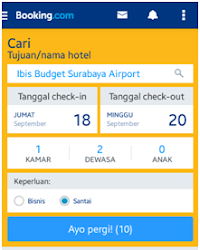 Murah Mana, Pesan Hotel Bandara Via Aplikasi Traveloka atau Booking.com?