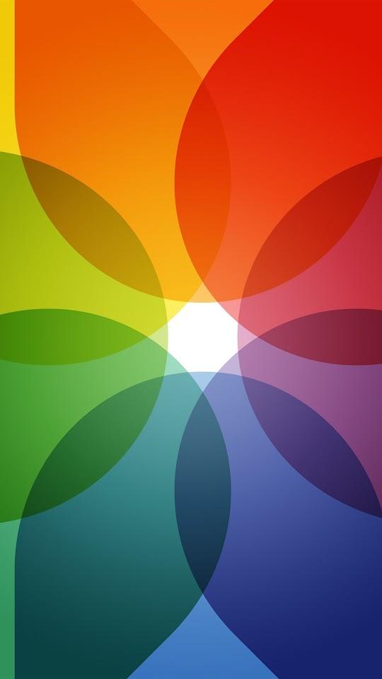 Colorful Circles Galaxy Note HD Wallpaper