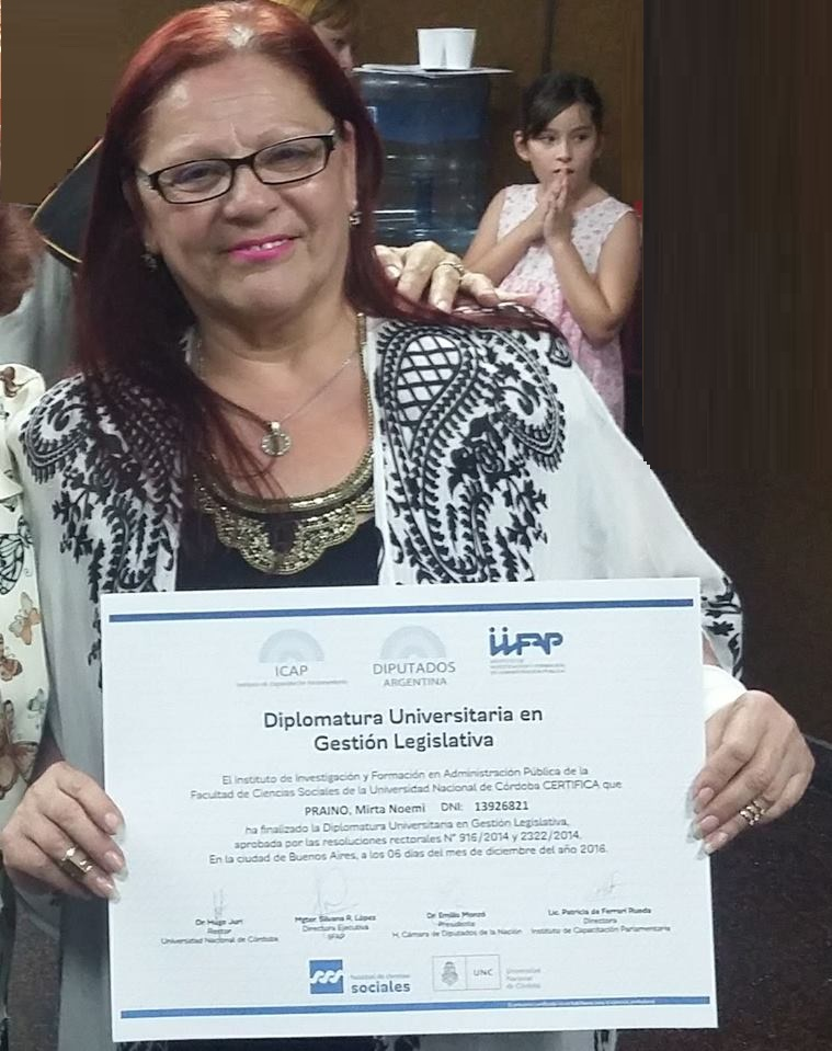 Diplomatura Universitaria en Gestion legislativa
