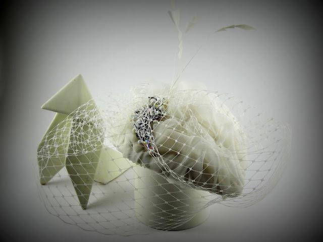 tocado coleccion novia 2013 la pajarita