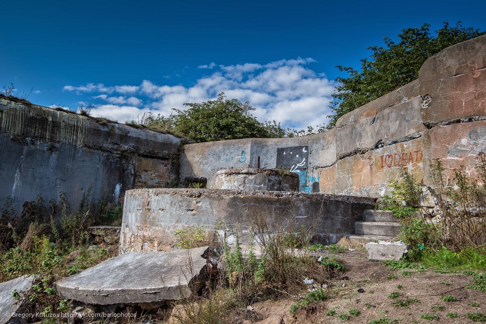 Мир через объектив: Форты Кронштадта. 1-й Северный, Риф, Шанец.