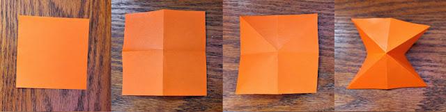 cara Membuat Lampion Origami