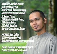 BIODATA RINGKAS MOTIVATOR
