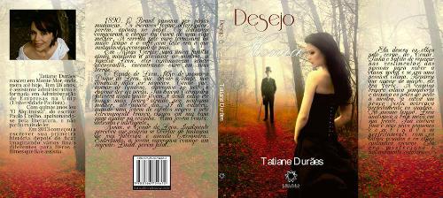 Capa aberta do livro Desejo e Honra - Tatiane Durães