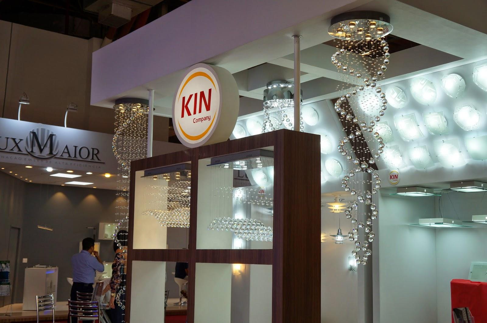 estande da Kin Company - Expolux 2014
