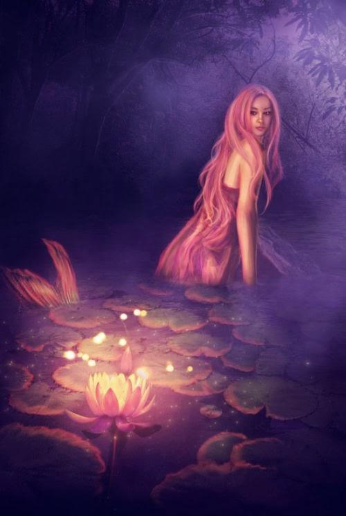 Lilia Osipova deviantart manipulação digital photoshop ilustrações fantasia surreal psicodelia Sereia