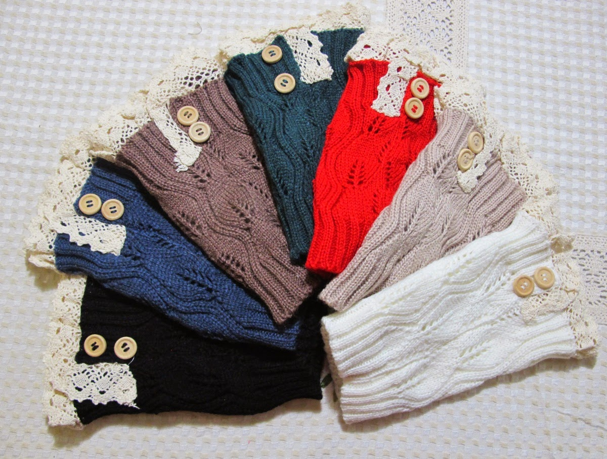 Fashion Beyond Forty Boot Cuffs on Groopdealz