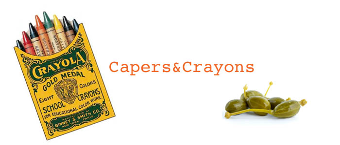 capers and crayons