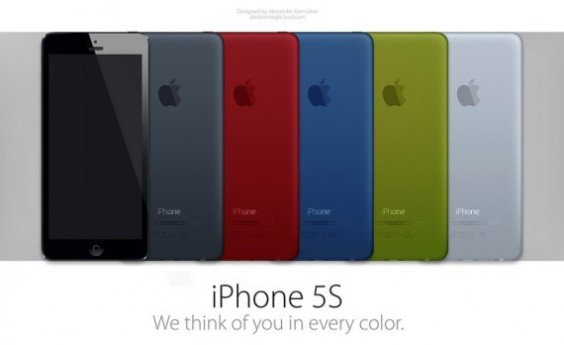 Iphone 5S With 5 Color Options