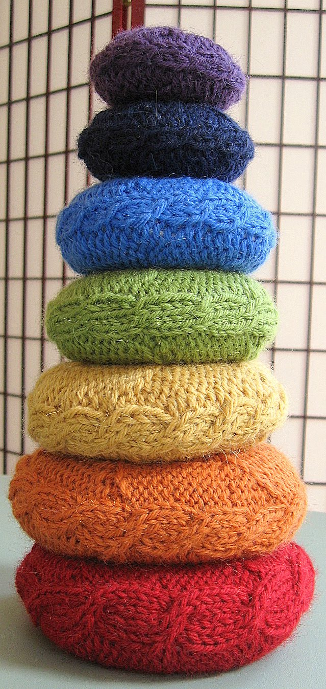 Traveling With The Knitting Yogi: Chakra Can! A Free Pattern for a ...