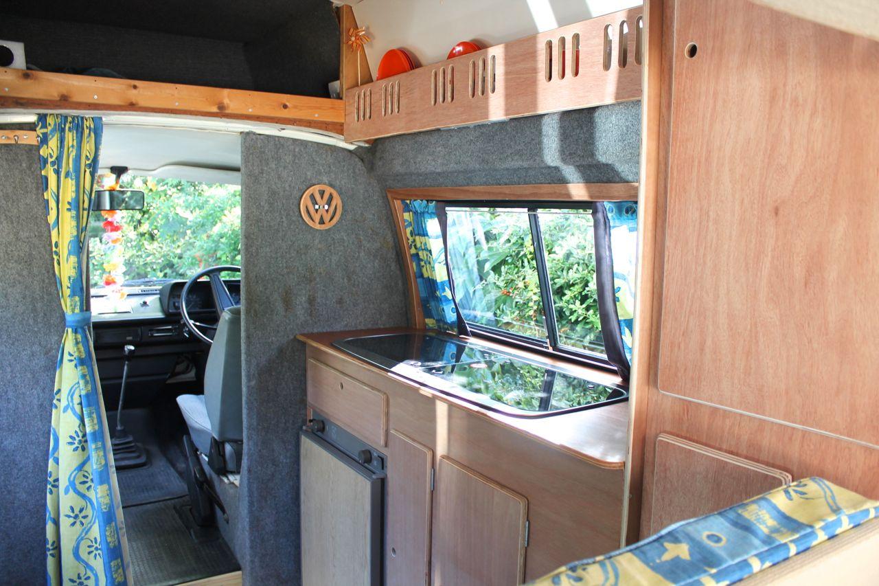 VW T25 Campervan DIY Makeover