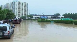 Army's help sought in rain-hit areas of twin cities