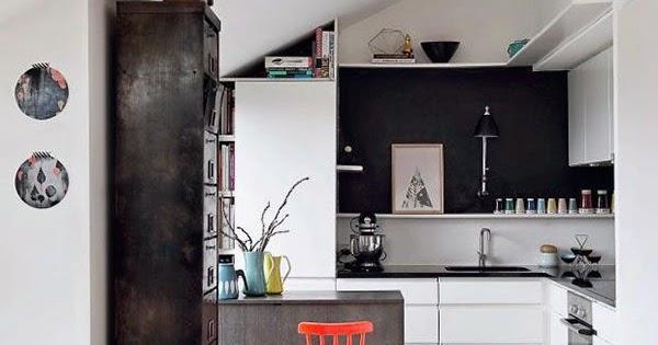 Boho deco chic cocinas negras elegantes cl sicas for Cocinas clasicas pequenas