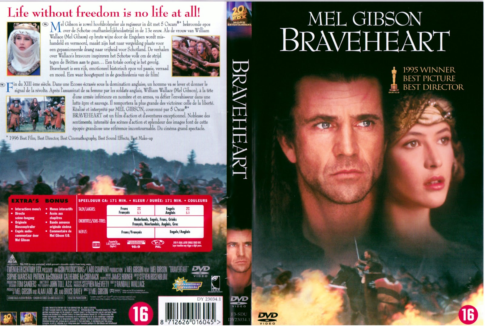 Braveheart Dvd Cover