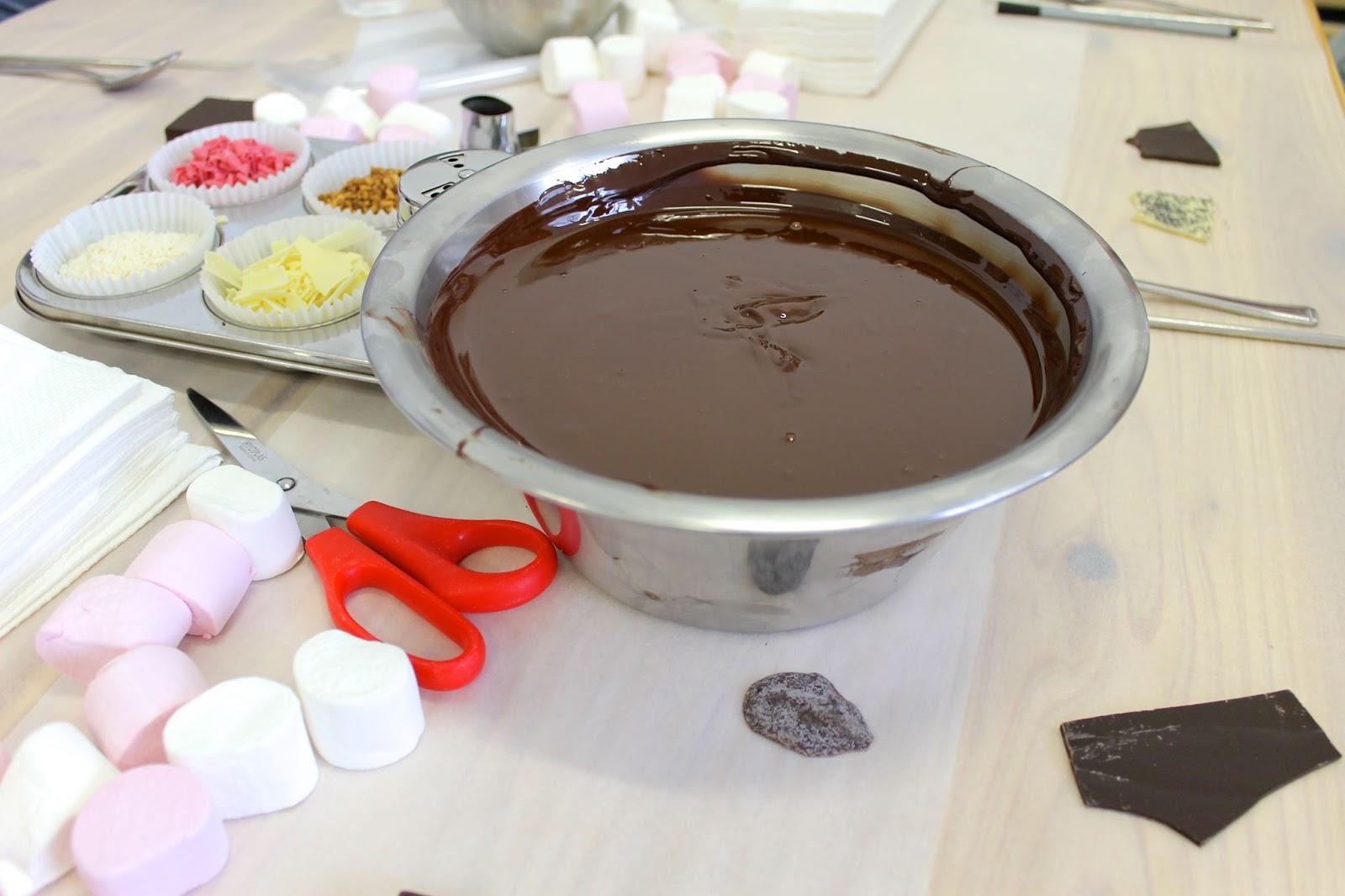 Making chocolate london