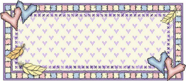 bordes, para el cuaderno viajero, comunicados , tarjetitas y etc