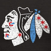 """FROZEN TALK"" 1901 West MADISON...BLACKHAWKS 21-6-5...47 pts (NHL Best)"