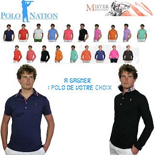 1 Polo Nation au choix homme ou femme