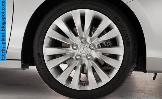 Acura rlx car 2014 tyres/wheels - صور اطارات سيارة اكورا ار ال اكس 2014