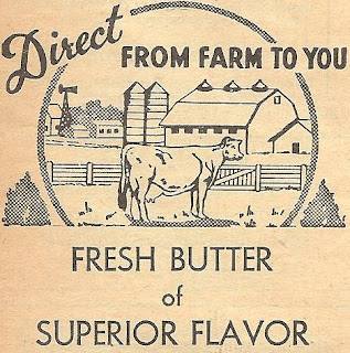 Antique Butter Advertisement Royalty Free Graphic Free Printable by http://knickoftimeinteriors.blogspot.com/