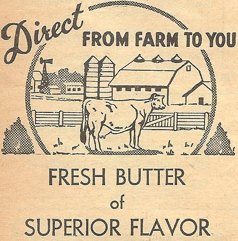 Antique Butter Box Royalty Free Printable Antique Graphics via Knick of Time
