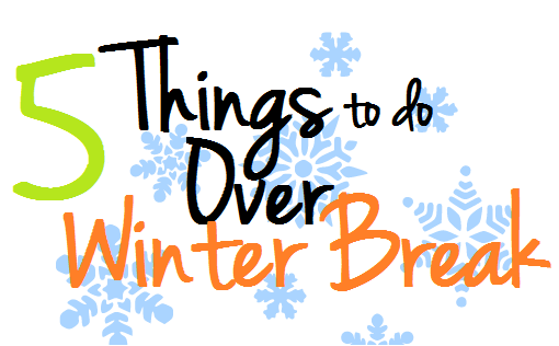 Big Orange Briefcase: 5 things to do over winter break