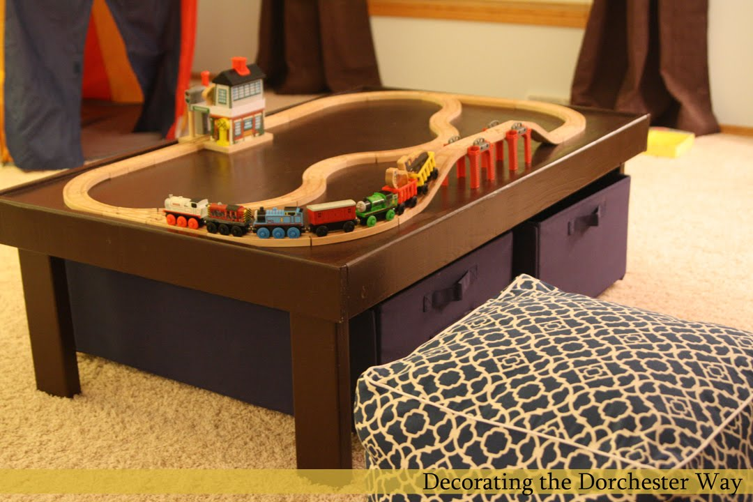 Pdf Diy Pottery Barn Kids Train Table Download Plywood
