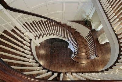 Decoraci n de interiores escaleras de caracol - Escaleras de casas de lujo ...