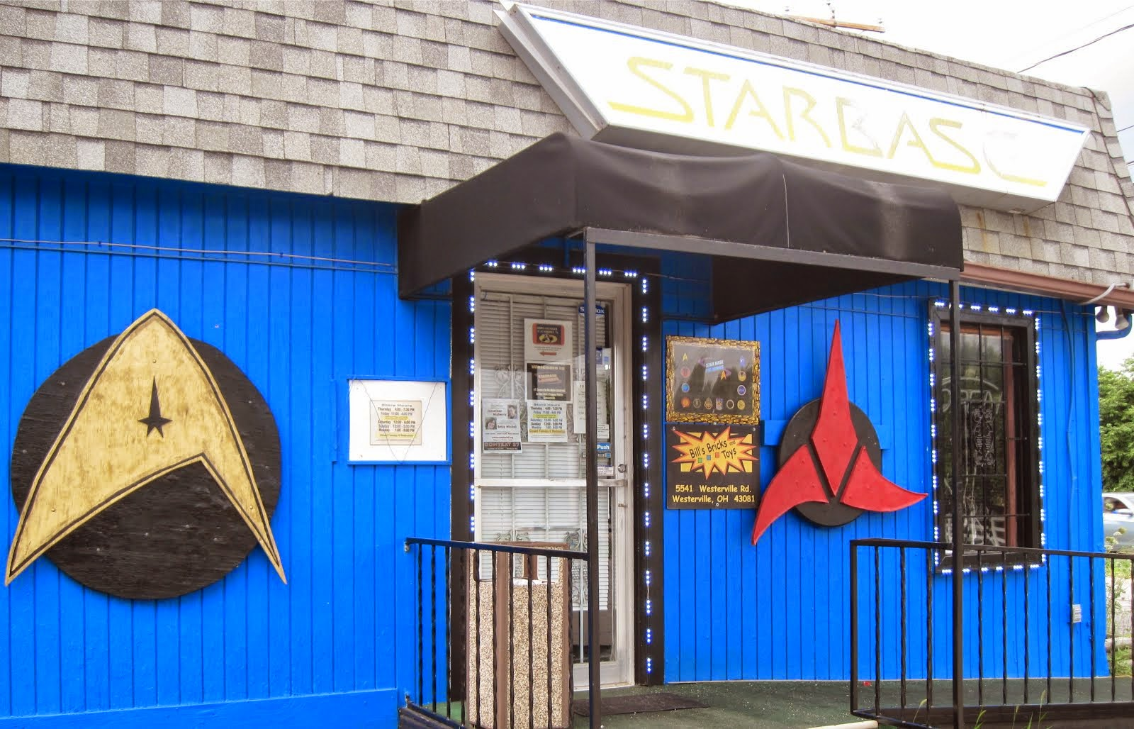 Star Base Columbus & Bills Bricks