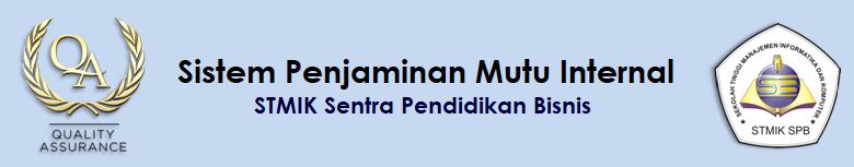 Sistem Penjaminan Mutu Internal - STMIK Sentra Pendidikan Bisnis