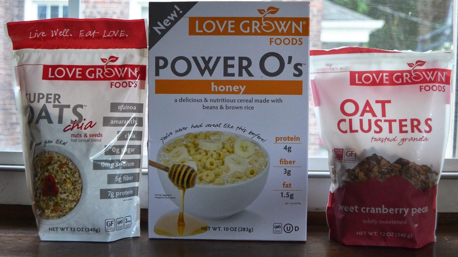 Love Grown Foods cereal