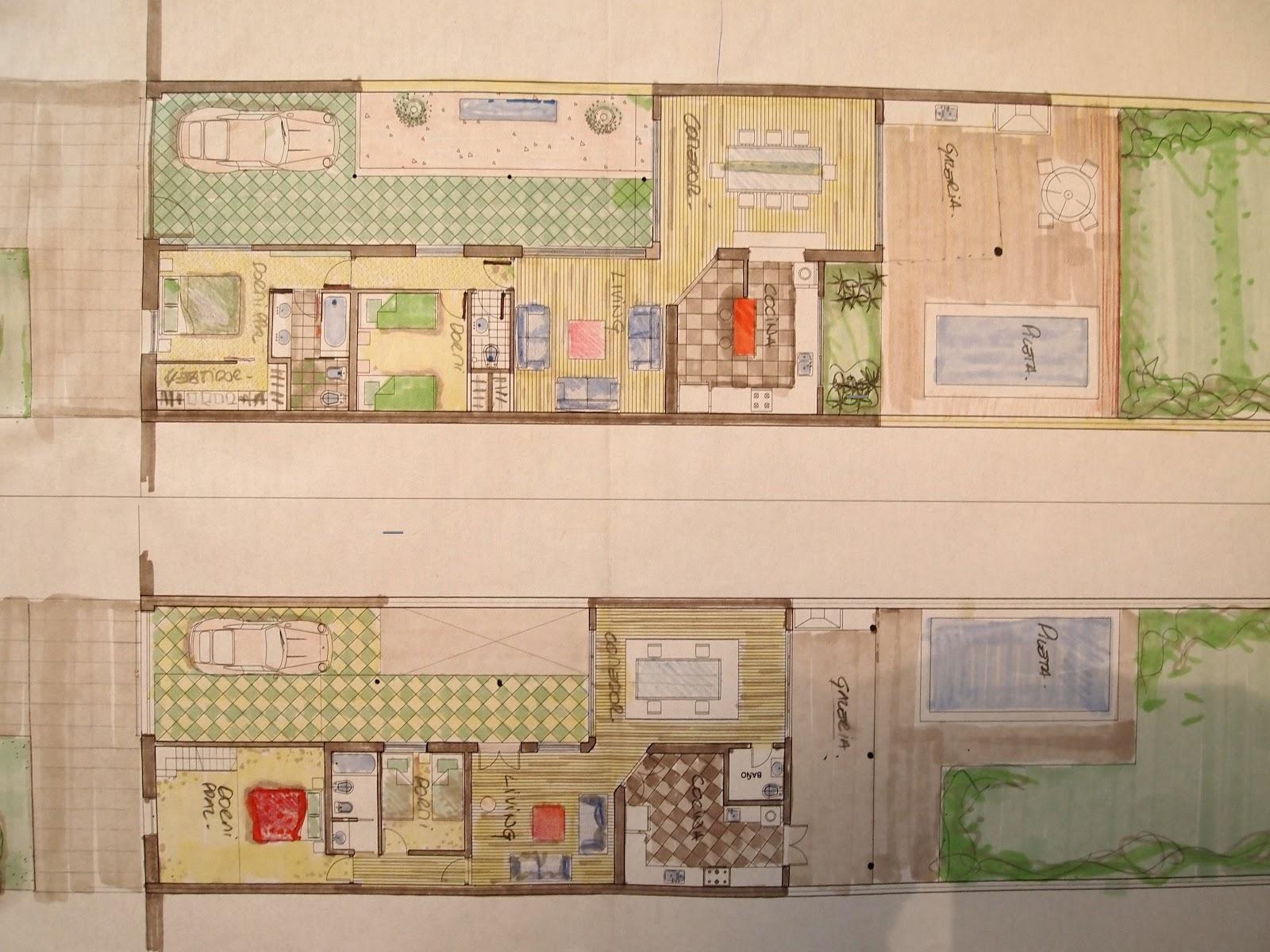 Arquitectura a tu medida casa chorizo ideas de for Tipos de cocina arquitectura