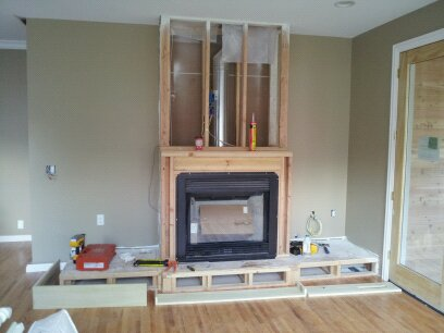 how to build drywall frame