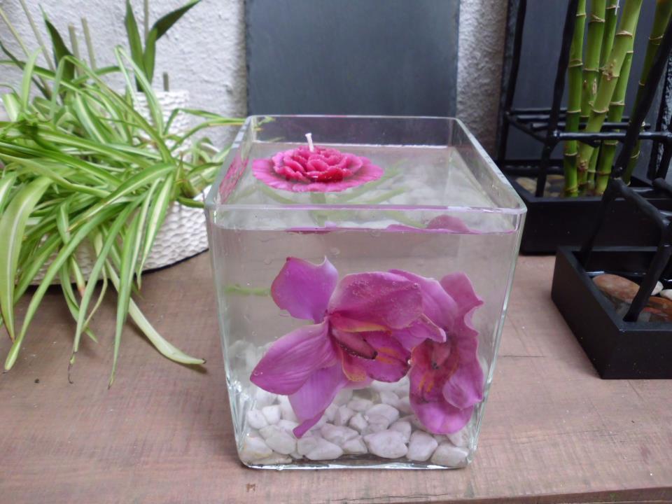 Popurri regalos decoraci n complementos jarrones de for Decorar jarrones con velas
