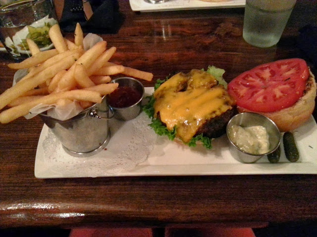 Best burger in the US at Thunder Burger & Bar in Georgetown Washington DC.