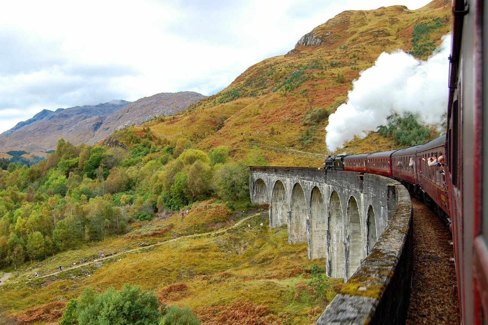 Photographers of the Glenfinnan Viaduct