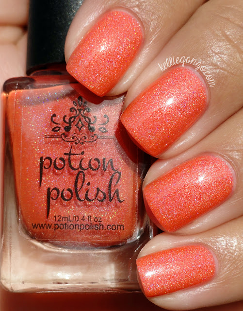 Potion Polish Papaya Sunrise