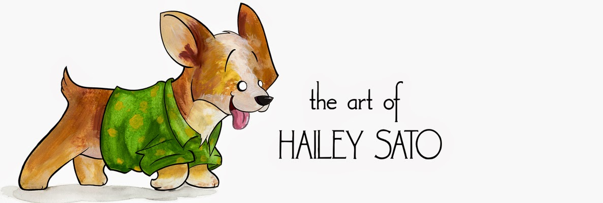 Art of Hailey Sato
